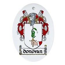 Donovan Coat of Arms Keepsake Ornament