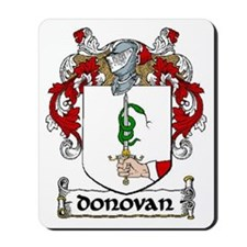 Donovan Coat of Arms Mousepad