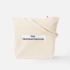 The Procrastinator's  Tote Bag