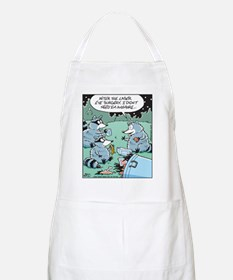 Raccoon Laser Eye Surgery BBQ Apron