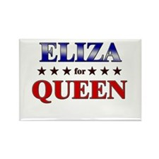 ELIZA for queen Rectangle Magnet