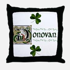 Donovan Celtic Dragon Throw Pillow