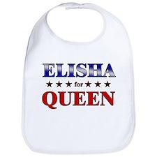 ELISHA for queen Bib