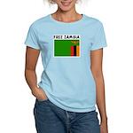FREE ZAMBIA Women's Light T-Shirt