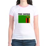FREE ZAMBIA Jr. Ringer T-Shirt