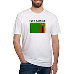 FREE ZAMBIA Fitted T-Shirt