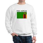 FREE ZAMBIA Sweatshirt