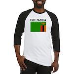 FREE ZAMBIA Baseball Jersey