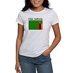 FREE ZAMBIA Women's T-Shirt