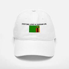 EVERYONE LOVES A ZAMBIAN GIRL Baseball Baseball Cap