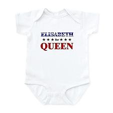 ELISABETH for queen Infant Bodysuit
