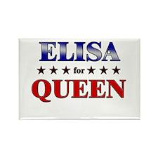 ELISA for queen Rectangle Magnet