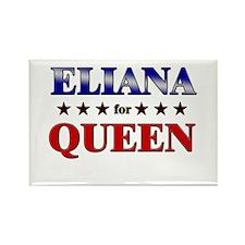 ELIANA for queen Rectangle Magnet