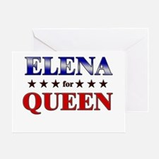 ELENA for queen Greeting Card