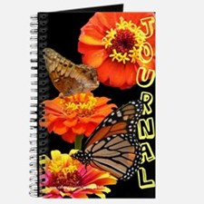 Zinnias and Butterflies Journal