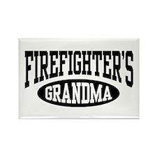 FireFighter's Grandma Rectangle Magnet