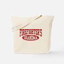 FireFighter's Grandma Tote Bag