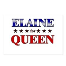ELAINE for queen Postcards (Package of 8)