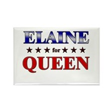 ELAINE for queen Rectangle Magnet