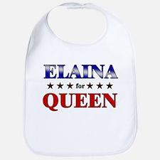 ELAINA for queen Bib