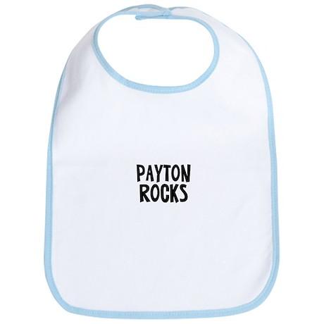 Payton Rocks Bib