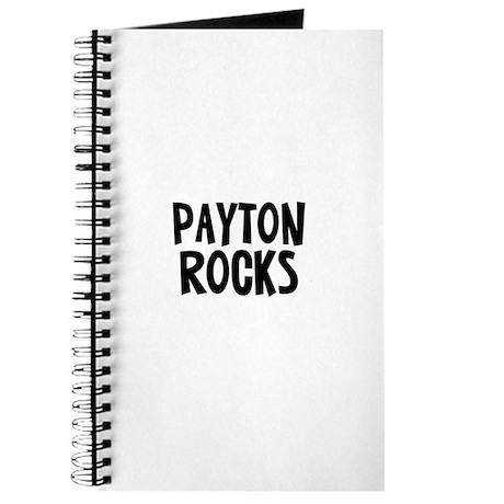 Payton Rocks Journal