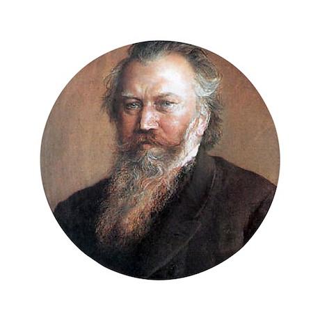 """Faces """"Brahms"""" 3.5"""" Button"""
