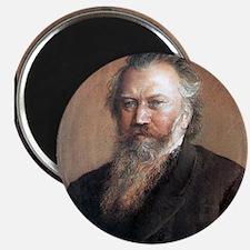 """Faces """"Brahms"""" Magnet"""