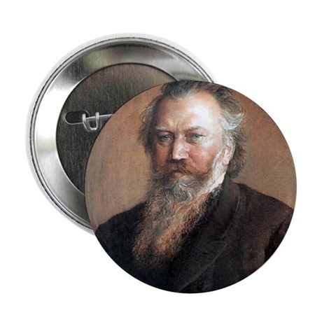 """Faces """"Brahms"""" 2.25"""" Button"""