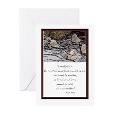 Heartstrings Vertical Greeting Card