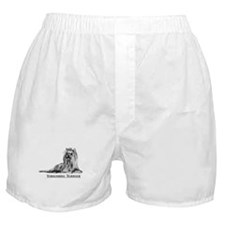Yorkshire Terrier Dog Breed Boxer Shorts