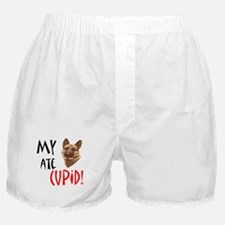 My German Shepherd Ate Cupid! Boxer Shorts