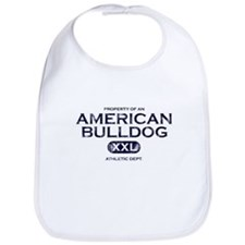Property of an American Bulldog Bib