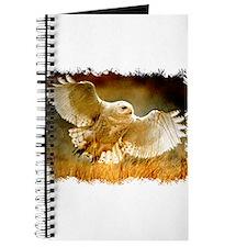 Funny Barn owl Journal