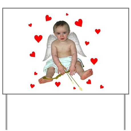 Little Cupid Yard Sign