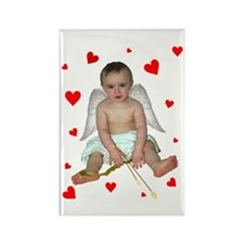Little Cupid Rectangle Magnet