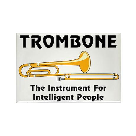 Trombone Genius Rectangle Magnet (100 pack)