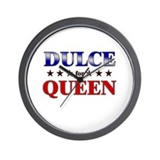DULCE for queen Wall Clock