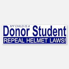 Donor Student Bumper Bumper Bumper Sticker