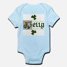 Kelly Celtic Dragon Infant Creeper