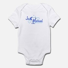 Just Married 1 Infant Bodysuit