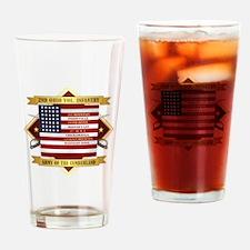 2nd Ohio Volunteer Infantry Drinking Glass