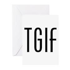 TGIF Greeting Cards (Pk of 10)