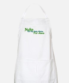 Nuke the Whales BBQ Apron
