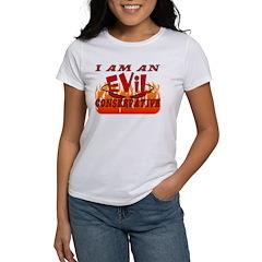 Evil Conservative Women's T-Shirt