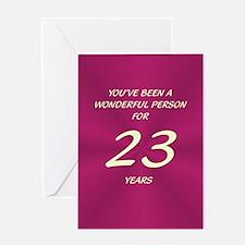 Wonderful Person - Birthday Card - 23