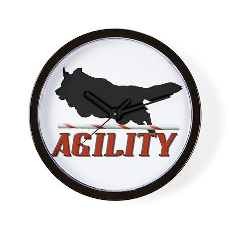 Agility Jumpin Wall Clock