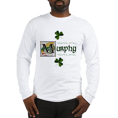 Murphy Celtic Dragon Long Sleeve T-Shirt