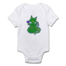 Buddhist Kitty Infant Bodysuit