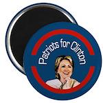 Patriots for Clinton campaign magnet